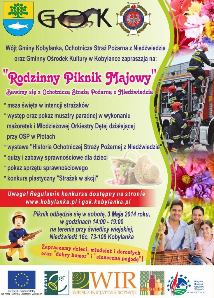 Plakat Piknikowy GOK