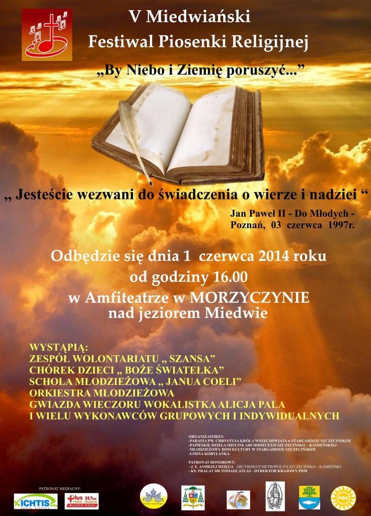 V MIEDWIAŃSKI FESTIWAL PIOSENKI RELIGIJNEJ