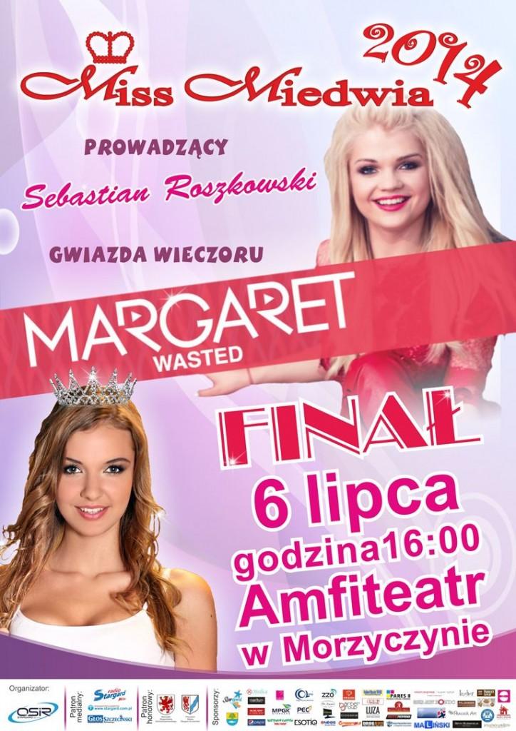 Plakat A3 miss miedwia