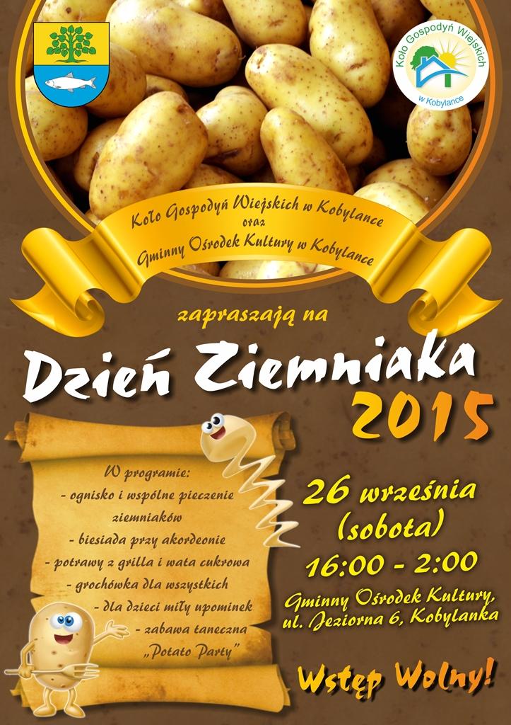 Plakat A3 Dzień Ziemniaka 2015